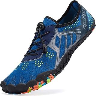 LeKuni Zapatillas Hombre Descalzo Zapatos Agua Zapatos Nadar Zapatos Zapatos de Playa Zapatos para Agua