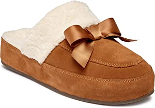 Vionic Women's Sublime Nessile Mule Slipper - Ladies Backless Slippers with Concealed Orthotic Arch Support
