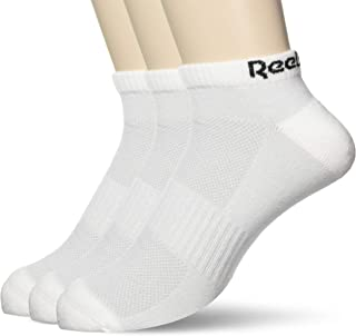 Reebok Unisex Te Low Cut Sock 3P Socks