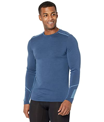 Helly Hansen Lifa Merino Midweight Crew (North Sea Blue) Men