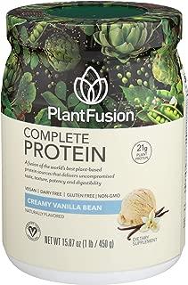 Plantfusion Protein Powder Vanilla Bean 1 lb (454g)