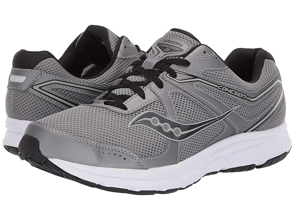 Saucony Grid Cohesion 11 (Gunmetal/Black) Men