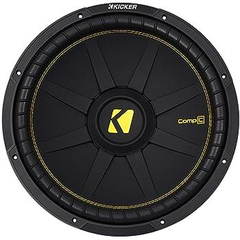 """Kicker CWCS154 CompC 15"""" Subwoofer Single Voice Coil 4-Ohm"""