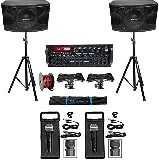 Rockville Karaoke Machine System w/(2) 12