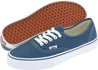 男士 Vans 正品帆布低帮休闲系带橡胶底帆布运动鞋(5 D(M),*蓝)