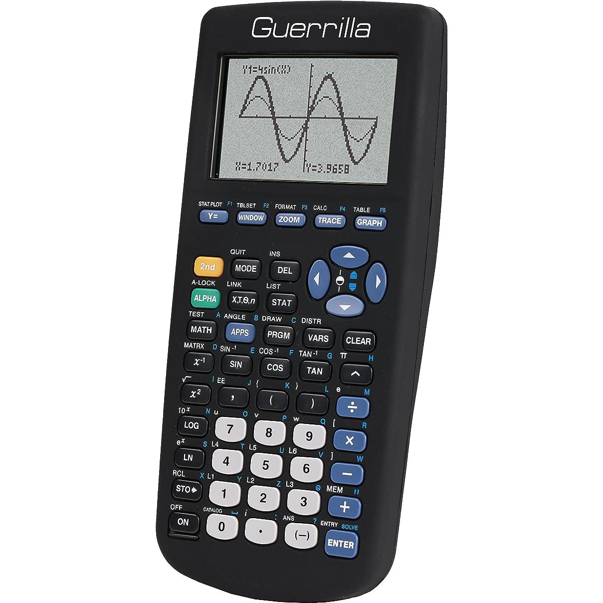 犬多数のリラックスGuerrilla ti83blksc Graphing Calculator