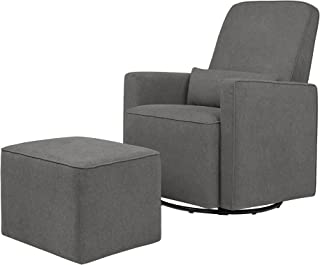 Awesome Amazon Com Grey Gliders Ottomans Rocking Chairs Machost Co Dining Chair Design Ideas Machostcouk