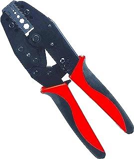 ConnectoRF Heavy Duty Coax RF Connector Ratchet Crimping Tool Crimper for RG58 RG59 RG62 RG174 Fiber Optic
