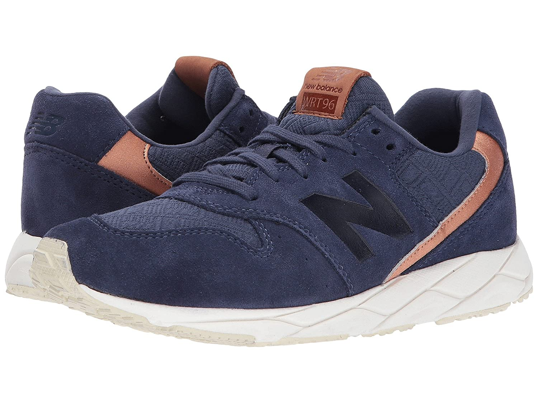 (ニューバランス) New Balance メンズランニングシューズ?スニーカー?靴 WRT96 Dark Cyclone/Copper Metallic ダーク /カッパー メタリック 7 (25cm) B