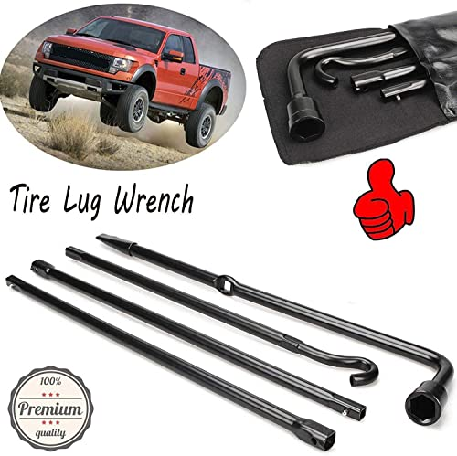high quality Bowoshen Premium Spare Tire Tools sale Kit new arrival Extension Lug Wrench with Carry Bag for Ford F150 04-2014 online