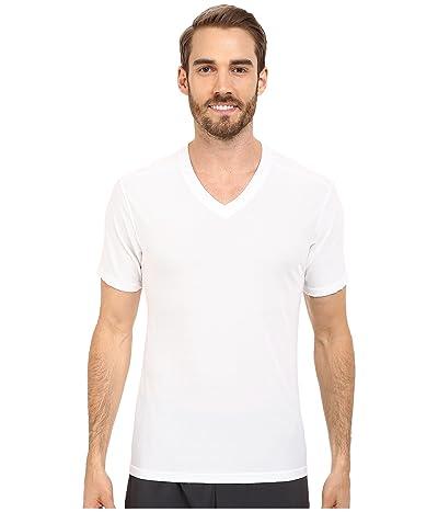 ExOfficio Give-N-Go(r) V-Neck (White) Men