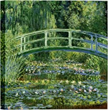 Eliteart-The Water Lily Pond (A) by Claude Monet Oil Painting Reproduction Giclee Wall Art Canvas Prints