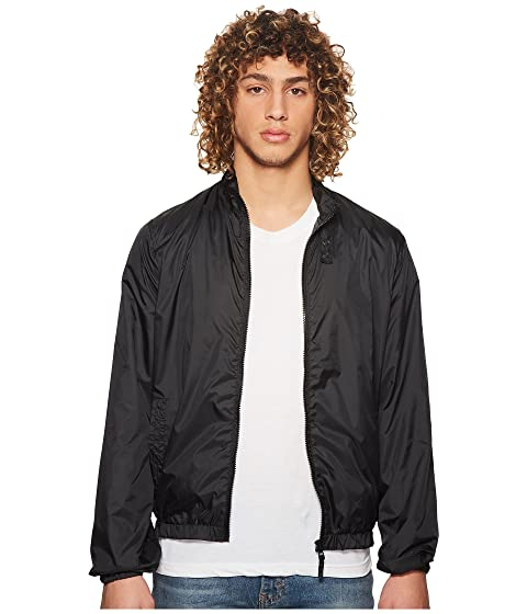 MEMBERS ONLY Packable Windbreaker, Black