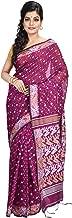 FabstyleIndia Women's Soft Jamdani Dhakai Saree with Blouse Piece (Multicolour)