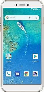 General Mobile GM 8 Go Smartphone, Altın, 16 Gb