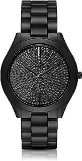 Women's Slim Runway Black Watch MK3449