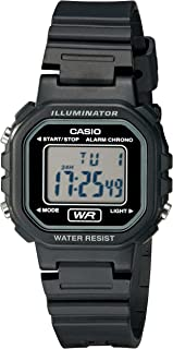 Women's LA20WH-1ACF Classic Digital Black Resin Watch