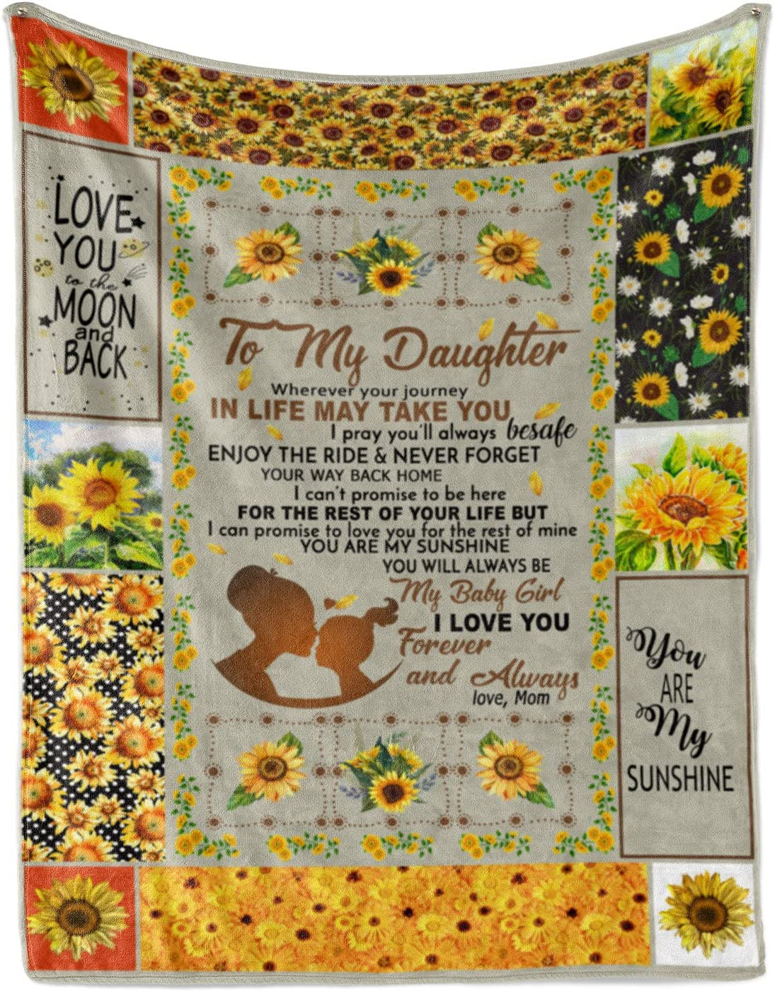 thanhlk Butterfly Fleece Max 55% OFF Blanket - MOM Boston Mall to I Love You Daughter