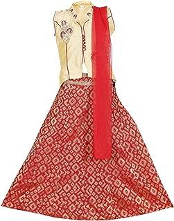 Ashwini Girls' Netted Skirt Top