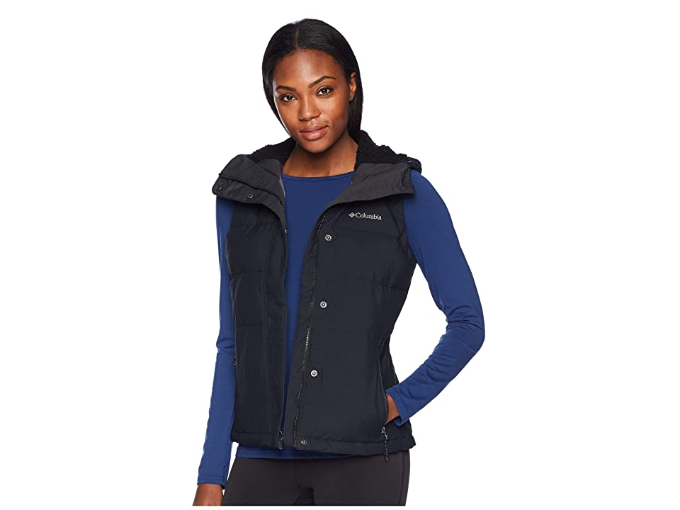 Columbia Winter Challengertm Hooded Vest (Black) Women