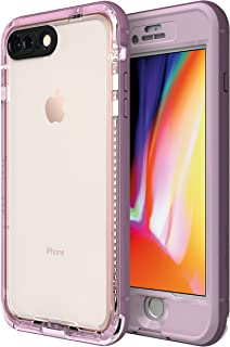 LifeProof NÜÜD Series Waterproof Case for iPhone 8 Plus (ONLY) - Retail Packaging - Morning Glory (WHINSOME Orchid/Smoky Grape)