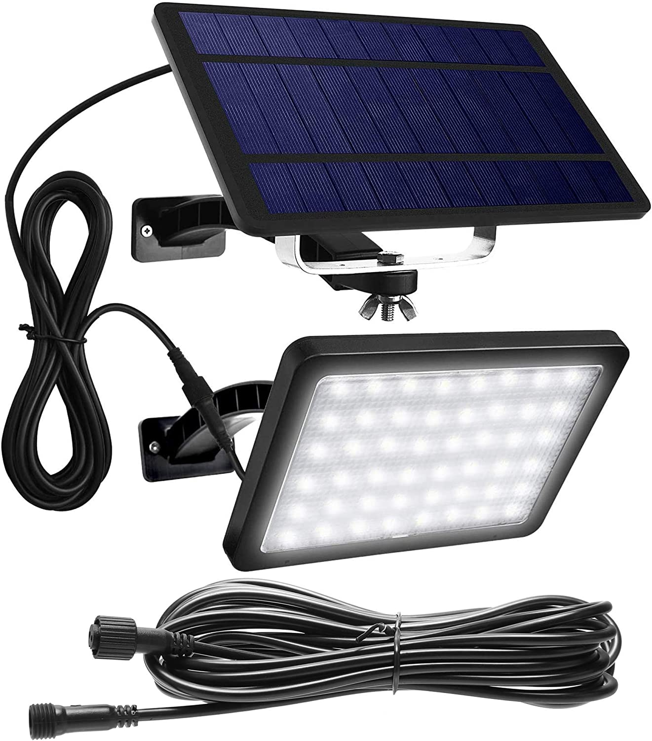 1000 Ranking TOP4 Choice Lumens 48 LED Solar Lights Outdoor 26.25ft with 8m Extens