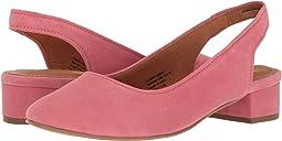 Flamingo Pink Suede