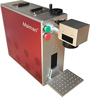Maiman Mini 30W Fiber Laser Etching Machine, 110V/60Hz, FDA