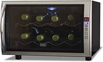 Black + Decker BWT08THSB4 8-Bottle Capacity Wine Cellar