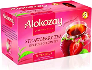 Alokozay Strawberry Tea Bags, 25 Bags (ART03704)
