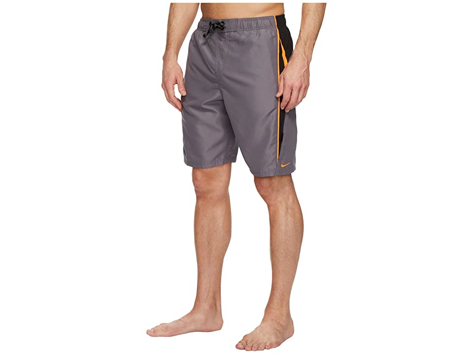 Nike Contend 9 Volley Shorts (Gunsmoke) Men