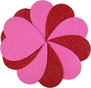 Forum Novelties Valentines Glitter Hearts