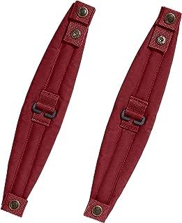 Fjällräven Unisex-Adult Kånken Shoulder Pads, Ox Red, One Size