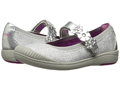 Stride Rite Layla (Toddler) (Silver) Girls Shoes