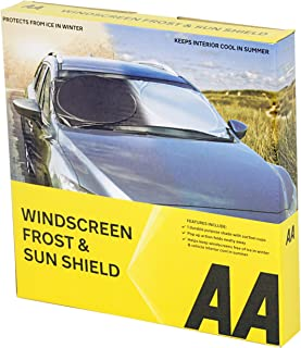 A&A AA Windscreen Sun Shield and Frost Protection