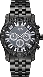 JBW [Jb-6219-L] Krypton 20 Diamonds Chronograph Stainless Steel Band Watch