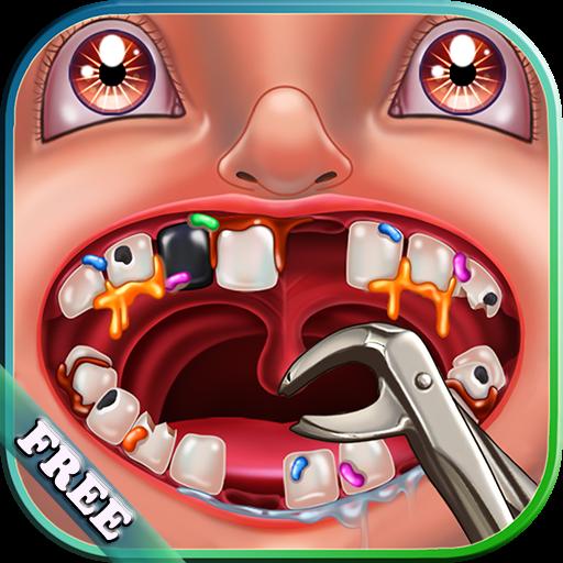 Dentiste fou Jeu gratuit : Traiter les patients dans une clinique d'un dentiste fou ! Jeu amusant pour les enfants