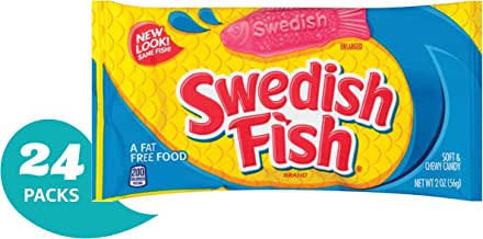 SWEDISH FISH Soft & Chewy Halloween Candy - 24 Packs