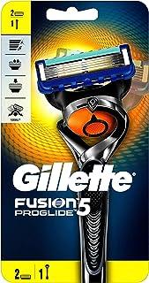 Gillette Fusion ProGlide men's razor with Flexball Handle Technology and 2 Razor Blade Refills