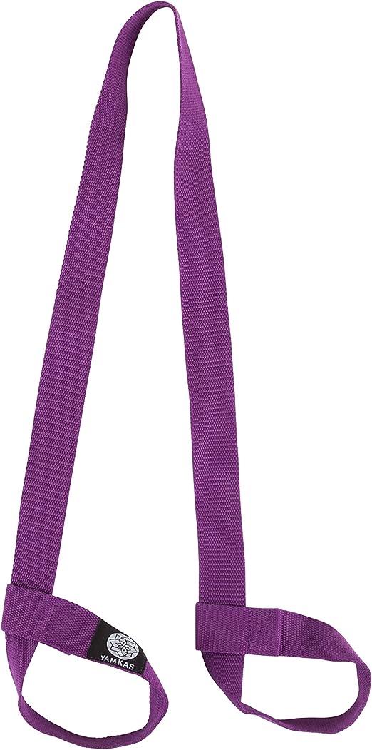 Sangle de tapis de fitness en pur coton Sangle de transport r/églable Sangles de tapis de transport suspendues pour gar/çons et filles Sports Sangle Sangle de tapis de yoga