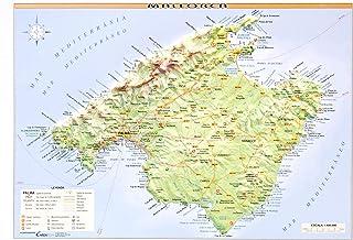 Mejor Mapa Relieve Mallorca