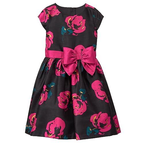 ed413e2715df Gymboree Girls' Little Floral Print Dressy Party Dress