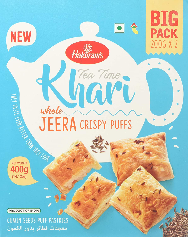 Virginia Beach Mall Haldiram's Tea Time Crispy Jeera Seasonal Wrap Introduction Puffs
