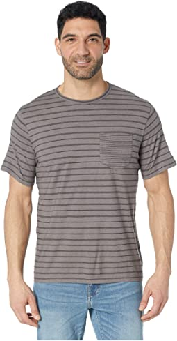 Short Sleeve Standard Stripe Tee