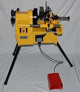 BLUEROCK Tools PTM50-C Electric Motorized Pipe Threader Threading Machine fits RIDGID Dies