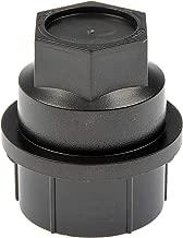 Dorman 711-025 Black Wheel Nut Cover - M27-2.0, Pack of 4