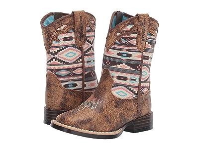 M&F Western Kids Magan (Toddler) (Brown) Cowboy Boots