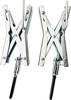 MaxxHaul Towing Products 70074 Tandem Wheel Chock/Lock (Pair)
