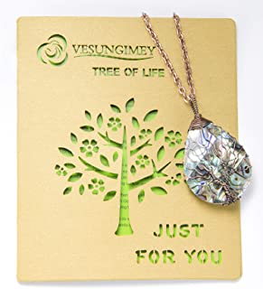 chakra tree of life pendant meaning