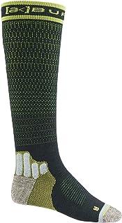 M AK - Calcetines de compresión para hombre, talla L, color gris